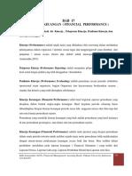 BAB 17. Kinerja Keuangan ( FINANCIAL  PERFORMANCE )