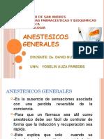 Presentacion de Anestesicos Generales