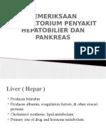 Interpertation of Hepatobiliary and Pancreas Laboratory Tests Fix