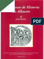 Estructuras defensivas medievales en el Corredor de Almansa