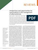 Atherosclerosis Application of Nanotechnology 2011