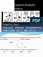 Math 125 - Final Exam - Practice - Solution | Trigonometric