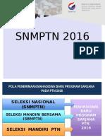 presentasi snmptn 2016