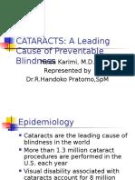 Cataracts Rhp