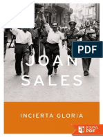 Incierta Gloria - Joan Sales