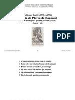 Sonetz 1-6 (4 voix) / Guillaume Boni