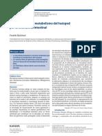 Programación del metabolismo del huésped por la microbiota intestinal