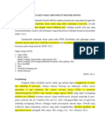 Makalah Penyakit Paru Obstruktif Kronik (PPOK) Rev