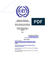 Ley 185 Codigo De_trabajo de Nicaragua Incluye Reformas Ley 815 Inclusive