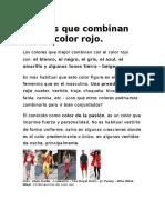 Colores Que Combinan Con