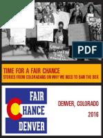 Fair Chance Denver Storybook