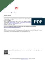 CITRON, Suzanne - Enseignement Secondaire Et Idéologie Élitiste Entre 1880 Et 1914