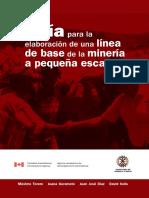 Guia Elaboración de Línea Base en Mineria de Pequeña Escala