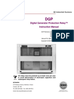 Digital Generator Protection Relay (Instruction Manual)