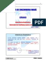 Aula - Estimacao e IC_media