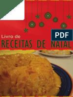 Doces de Natal Chef Fernando Correia