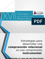 Coloquio Estrategias Comprension Relacional vs InstrumentalR
