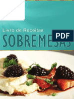 Sobremesas - Chef Fernando Correia