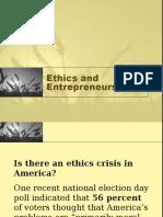Ethics and Entrepreneurship