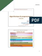 Algorithmique_programmationC++_Cours complet 2012-2013