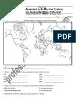 Avaliação Diagnóstica - 7º Ano Online