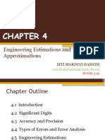 MEC 100 CHAPTER 4 (Engineering Estimation & Approximation)