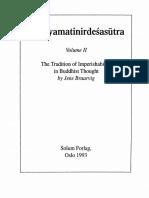 Aksayamatinirdesasutra Vol-2