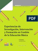 Experiencias de Investigación, Intervención y Formación en Gestión de La Educación (1)2