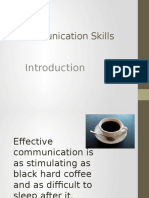 Communication Skills- Introduction