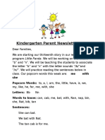 parent newsletter 13