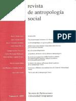 Revista de Antropologia Social