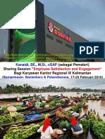 """Kanaidi, SE., M.Si (sebagai Pemateri) Sharing Session """"Employee Satisfaction & Engagement""""_di Regional IX Kalimantan"""