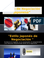 Estilo de Negociación Japonesa