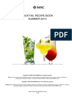 2 - Cocktail List SUMMER 2014