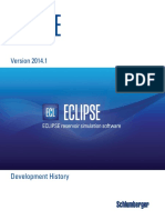 Eclipse Development History
