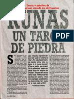 Runas Tarot de Piedra R-007 Nº020 - Año Cero - Vicufo2