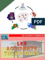 Cours théorique accidents thermiques n°2