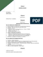 Reglamento de Horarios y Turnos PNP