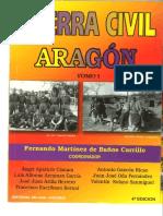 Guerra Civil ARAGON Tomo I