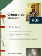 Grigore De Nazianz