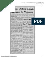 The Daily Tar Heel Tue Dec 5 1950 (Tenn Defy Ct)