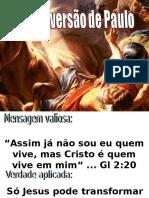 A Conversão de Saulo