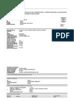 Constancia de Inscripción y Modificación Al Registro Tributario Unificado