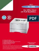 Datenblatt FS-1000 (Db1000)
