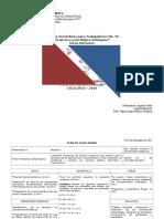 Plan de Clase Semanal. 7 a 11 12 2015.