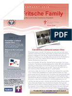 Fritsche Mission Newsletter - February 2016