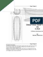 Drafting Ship Plans in CAD Wayne Portugues