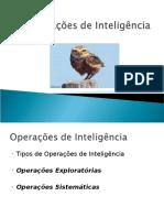 UNIDADE v Operações de Inteligência