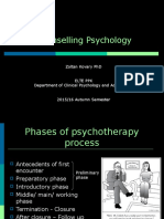 Introduction to Clinical and Counselling Psychology 11 - Counselling Psychology