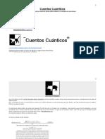 Cuentos Cuánticos - Ondas Gravitacionales y Fusión de Agujeros Negros